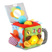 VTech, Soft and Smart Sensory Cube, Put-and-Take Ball Play, Baby Toy
