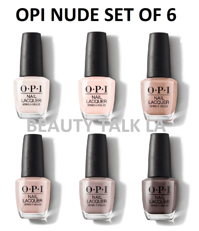 OPI Go Nudes Nail Polish Set