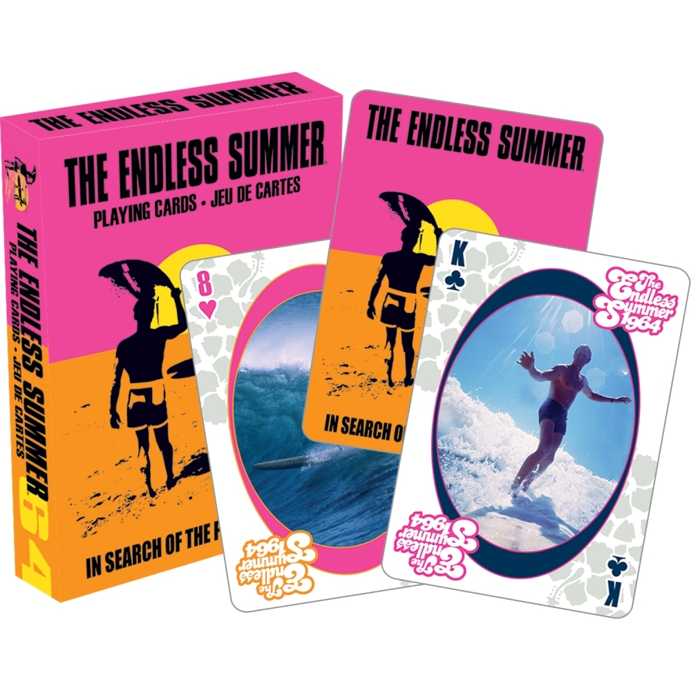 Endless Summer Playing Cards,  Classic Movies by NMR Calendars