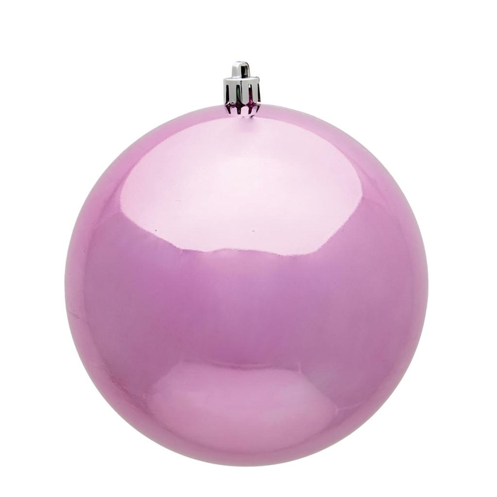 "Vickerman 481844 - 2.75"" Pink Shiny UV Treated Ball Christmas Tree Ornament (12 pack) (N590779DSV)"