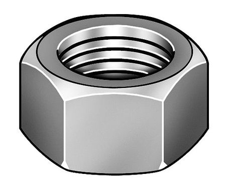 10 pk. M3-0.50 A2 Stainless Steel Plain Finish Acorn Nuts
