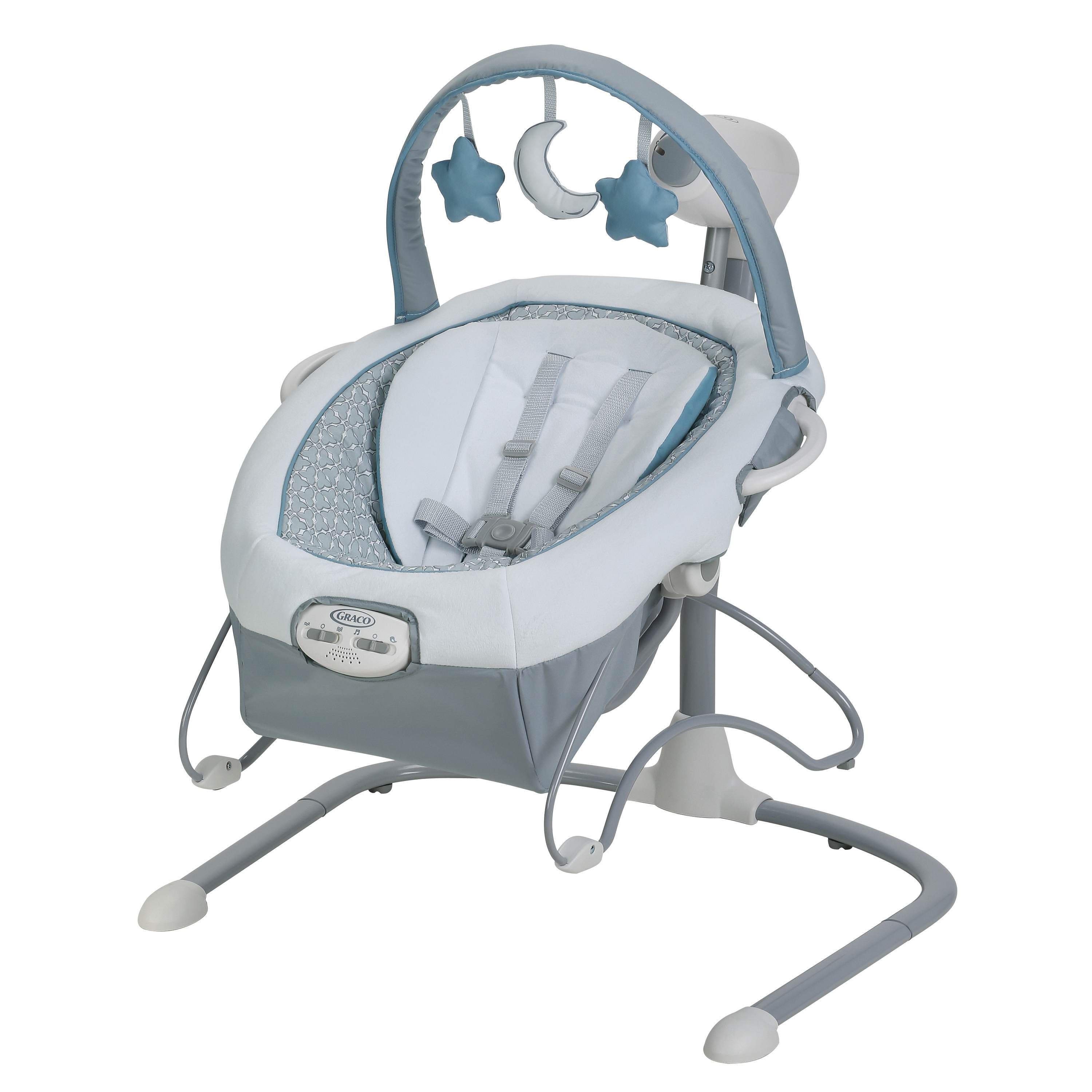Graco Duet Sway LX Baby Swing with Portable Bouncer, Camila by Graco