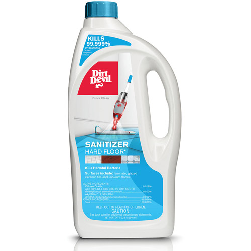 Dirt Devil Sanitizer Hard Floor Cleaning Solution 32 oz, AD30000