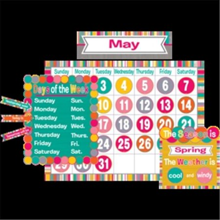 Teacher Created Resources TCR2685 Tropical Punch Calendar Bulletin Board](Bulletin Board Calendar)