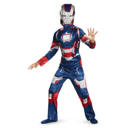 Iron Man 3 America Patriot Child Classic Costume](Iron Man Child Costume)
