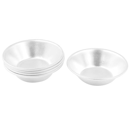 Unique Bargains 5 in 1 Aluminum Tart Quiche Pastry Cake Cups Baking Pans (Halloween Quiche Ideas)