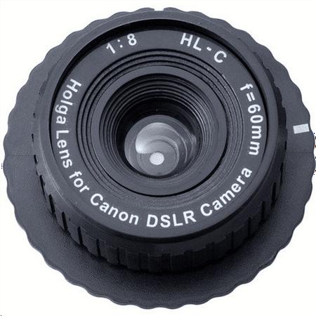 Holga 60mm f/8, Manual Focus Lens for Canon DSLR