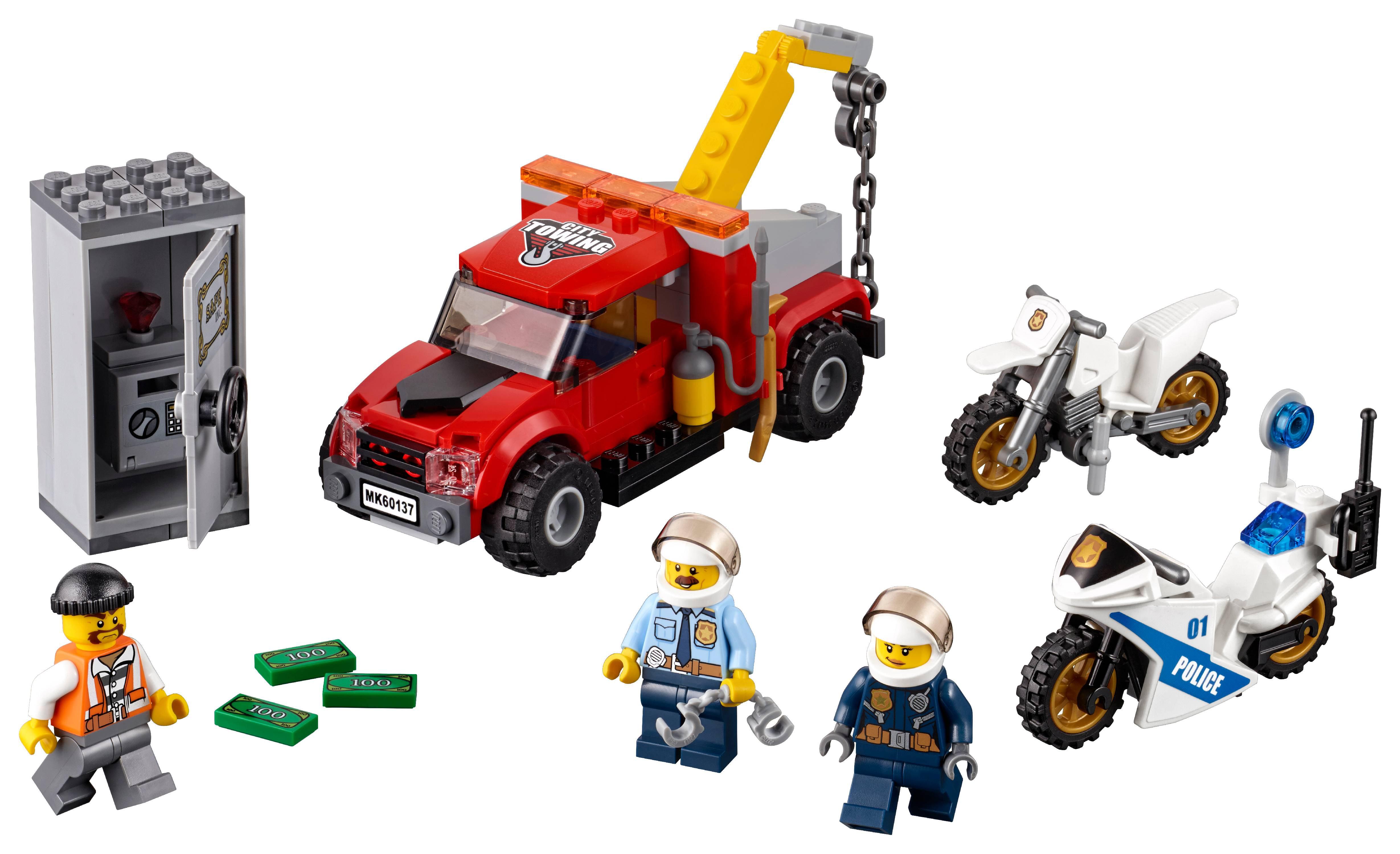 LEGO City Police Tow Truck Trouble 60137 - Walmart.com - Walmart.com