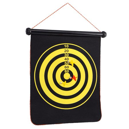 Spptty Double Sided Dartboard,Magnetic Dartboard,15inch Magnetic Double Sided Dart Board Wall Hanging Dartboard with 6 Safety Darts - image 2 of 8