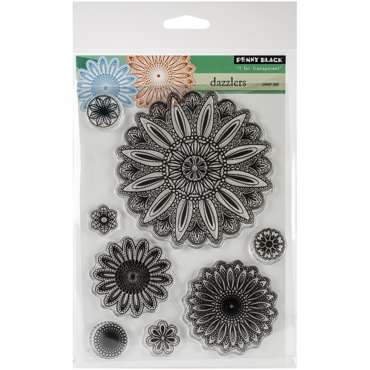 Penny Black Clear Stamps 5 Inch X 6.5 Inch Sheet-Dazzlers
