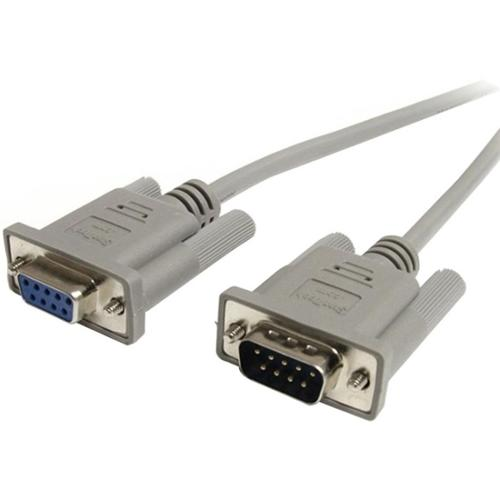 StarTech.com 10 ft Straight Through Serial Cable - M/F