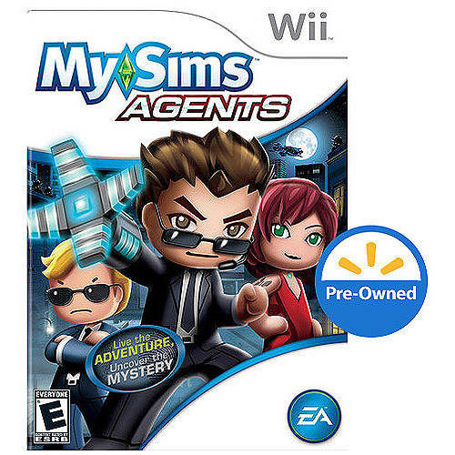 My Sims: Agent (Wii) - Pre-Owned