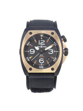 b7d62805b82 Product Image Bell And Ross Marine BR02 PINKGOLD CA Steel PVD 18K Rose Gold  Automatic Watch