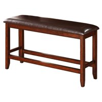Winners Only Fallbrook 48 in. Counter Height Dining Bench