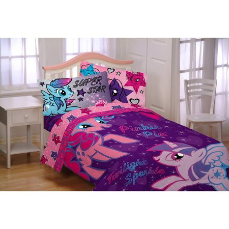 my little pony the stars are out twin comforter. Black Bedroom Furniture Sets. Home Design Ideas