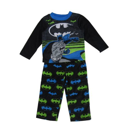 Boy's Batman 2 Piece Long Sleeve Pajama Sleep Set (Big Boys & Little Boys)](Batman Items)