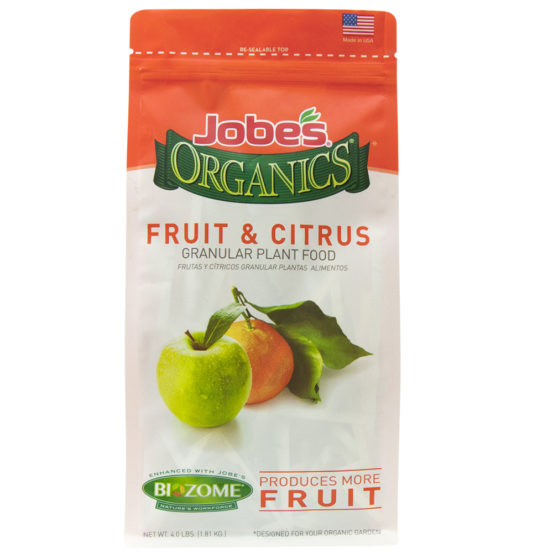 Jobe's Organics 4lbs. Granular Fruit and Citrus Plant Food