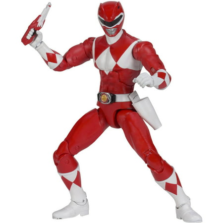 Power Rangers Legacy Mighty Morphin Red Ranger (Red Wing Iron Ranger Vs Wolverine 1000 Mile)