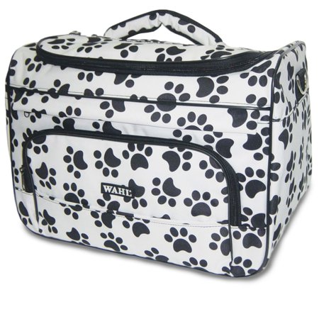Paw Print Travel Tote Bag Black and White #97764-001, Wahl's travel tote bag is ideal for carrying all your grooming essentials from dog treats to clippers.., By Wahl Professional (Animal Print Tote)