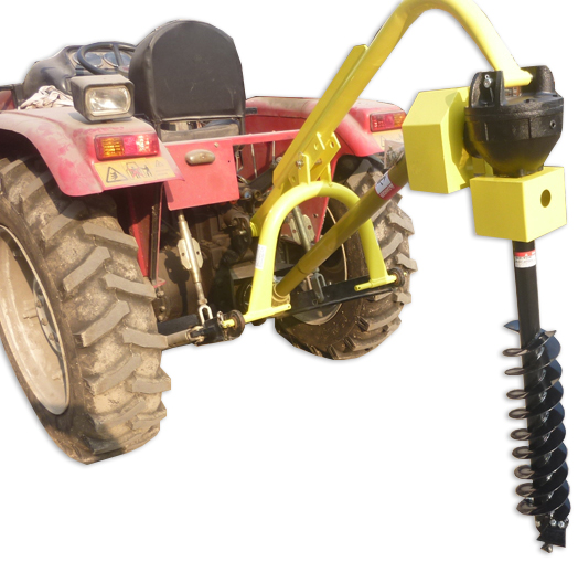 """Titan 30HP HD Steel Fence Posthole Digger w/12"""" Auger 3 P..."""