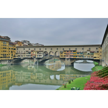 LAMINATED POSTER Pont D Vecchio Italy Florence Poster Print 24 x