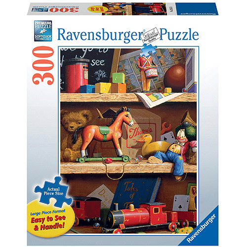 Ravensburger Toy Shelf Large Format Puzzle, 300 Pieces