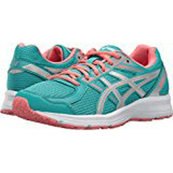 4a38866e204e Asics Women s Jolt Glacier Grey   Carbon Bright Rose Ankle-High Running Shoe  - 9.5M - Walmart.com