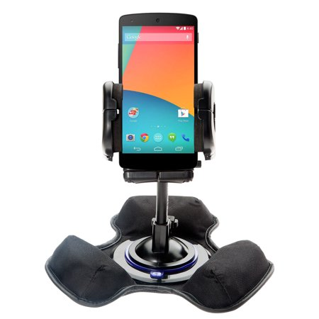 Car   Truck Vehicle Holder Mounting System For Google Nexus 6 Includes Unique Flexible Windshield Suction And Universal Dashboard Mount Options