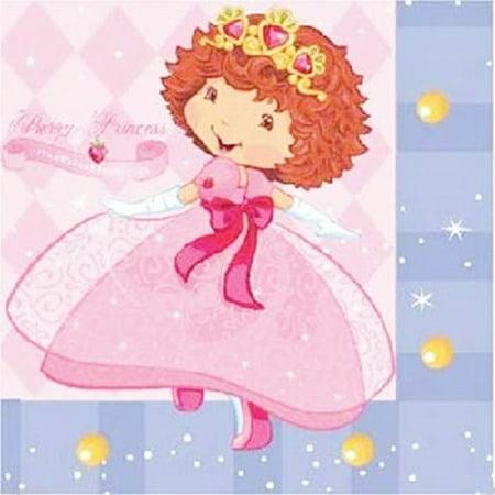 Strawberry Shortcake 'Berry Princess' Small Napkins (16ct) for $<!---->