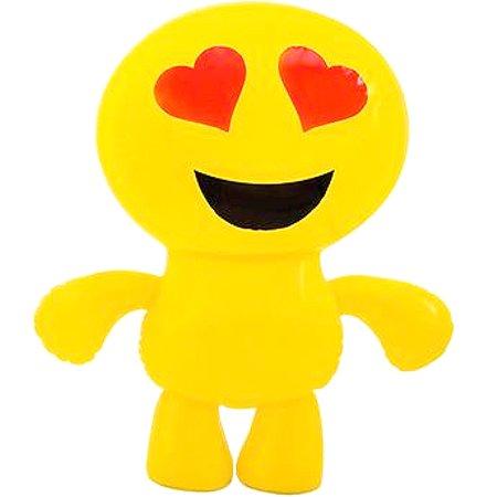 "24"" Inflatable Loving Heart Eyes Emoji Emote Face Man Decoration"