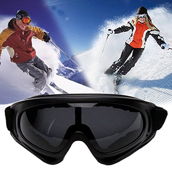 UV Protection Outdoor Sports Ski Glasses CS Army Tactical Military Goggles Windproof Snowmobile Bicycle Motorcycle... by
