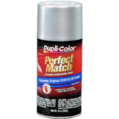 Krylon BCC0410 Perfect Match Automotive Paint, Chrysler Bright Silver Metallic, 8 Oz Aerosol Can