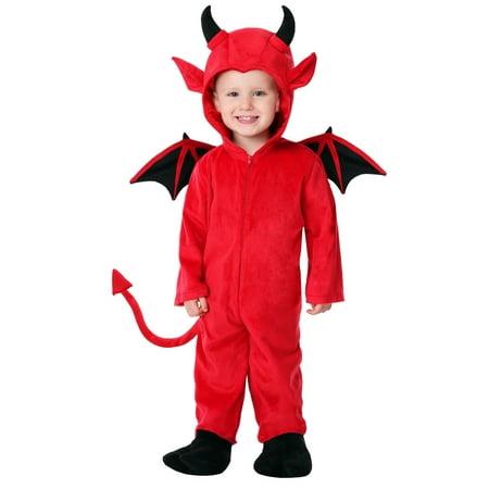 Toddler Adorable Devil - Tasmanian Devil Toddler Costume