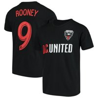 Wayne Rooney D.C. United Youth Name & Number T-Shirt - Black