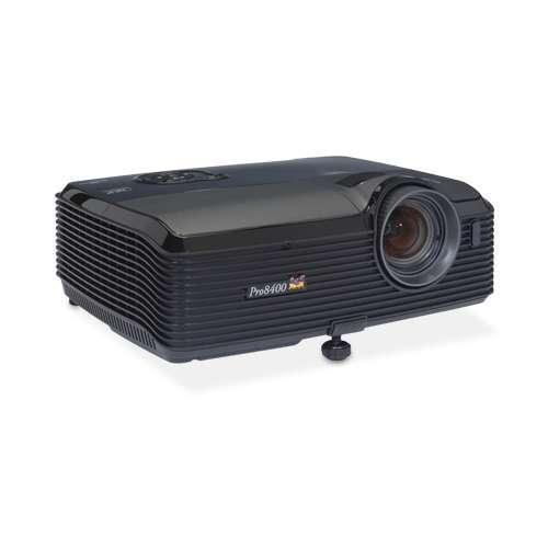 Viewsonic PRO8400 DLP Projector - 4000 ANSI Lumens, 1080p, 1920 x 1080, 16:9, 3000:1 Dynamic, 2600:1 Native, HDMI, VGA,