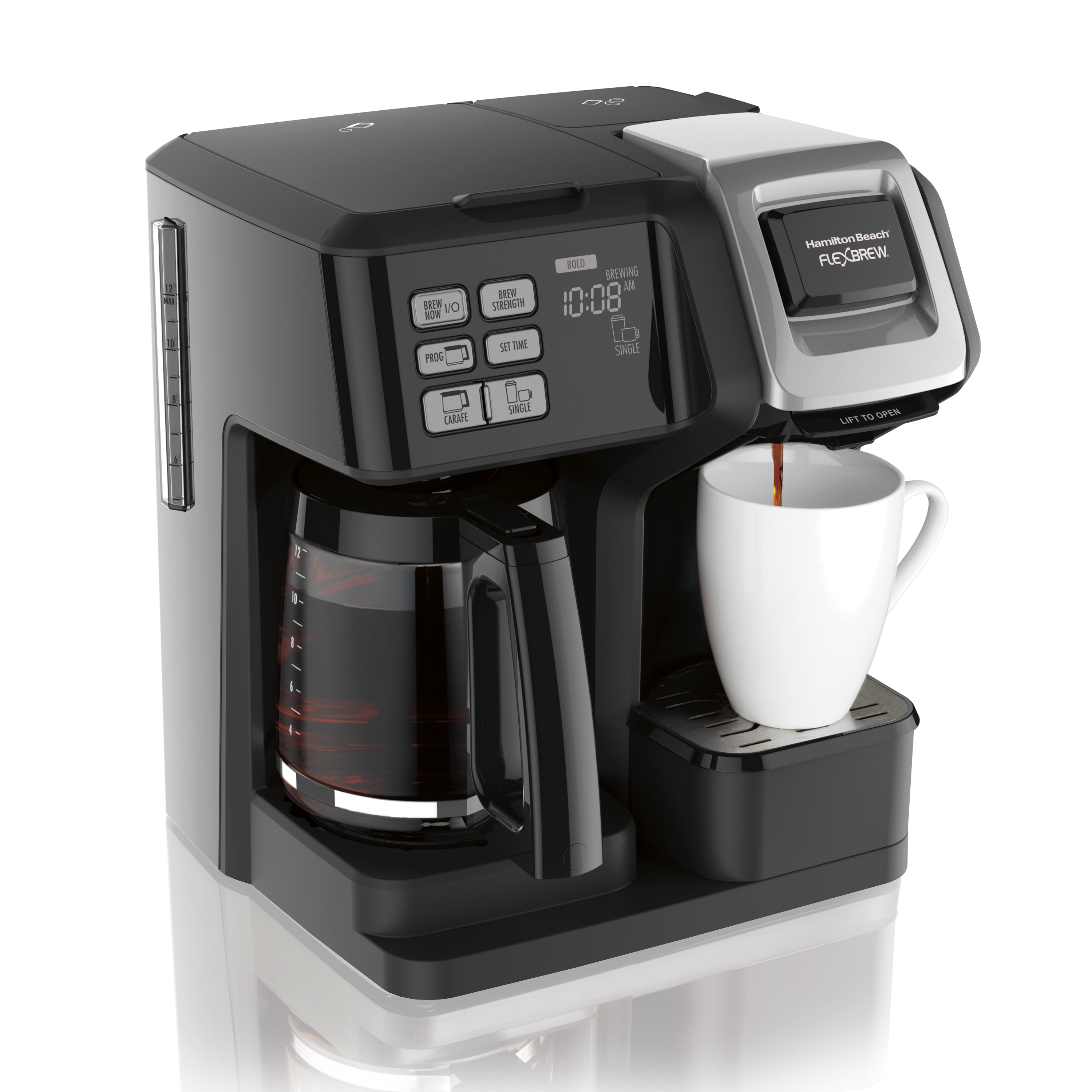 Hamilton Beach® Flex Brew® 2 Way Coffee Maker | Model# 49954 by Hamilton Beach