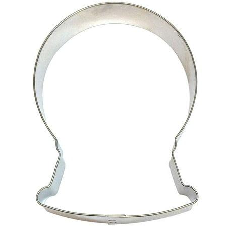 Snowglobe - Gum Ball Machine - Ferris Wheel - PYO - Cookie Cutter 4.75 in B1630 - Foose Cookie Cutters - USA Tin Plate Steel