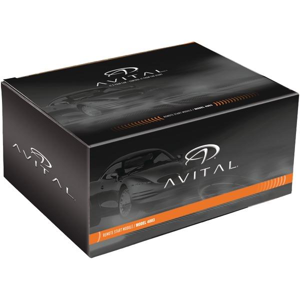 Avital 4003L Add-On Remote Start System