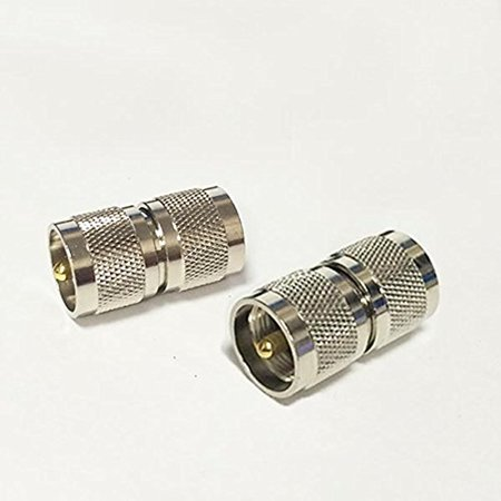 1PC RF coaxial coax adapter UHF male to male PL-259 connector coupler Coaxial Adapter Coax Connector