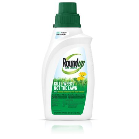 Roundup For Lawns 2 Concentrate (Northern) 32 oz., Kills 250+ Weeds