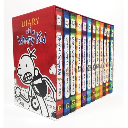Diary of a Wimpy Kid: Diary of a Wimpy Kid Box of Books (1-12) (Other) ()