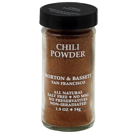 Morton & Bassett Chili Powder, 1.9 oz, (Pack of 3)