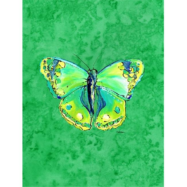 Carolines Treasures 8863GF 11 x 15 In. Butterfly Green On Green Flag, Garden Size - image 1 of 1