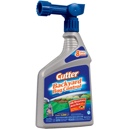 Cutter Backyard Bug Control Spray Concentrate Ready-to-Spray, 32 oz
