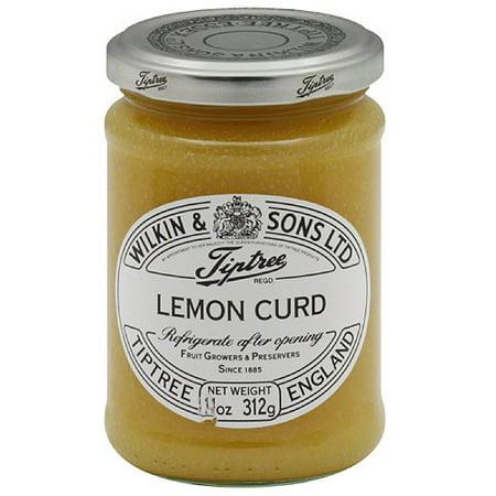 Tiptree Lemon Curd, 11 oz, (Pack of 6) (Lemon Curd Tart)