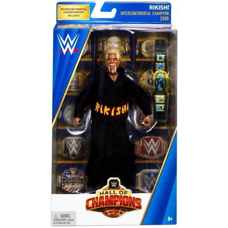 WWE Wrestling Hall of Champions Rikishi Action - Womens Wwe Champion