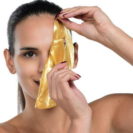 Gold Bio-Collagen Facial Face Mask (5PCS) - Gold Face Mask