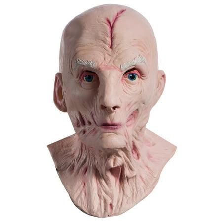 Star Wars Episode VIII - The Last Jedi Supreme Leader Snoke Overhead Latex Mask (Star Wars Latex)