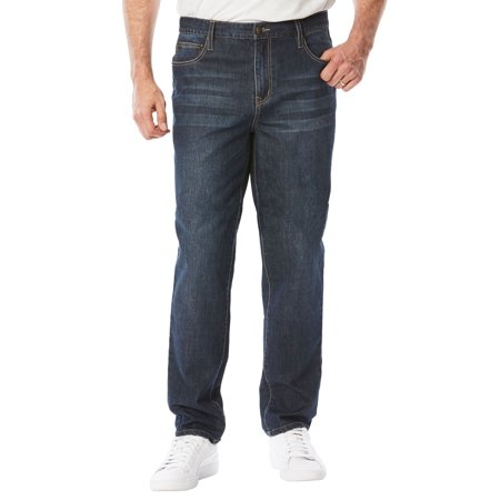 Big And Tall Stretch Jeans - Liberty Blues Men's Big & Tall Relaxed Fit 5-pocket Stretch Jeans