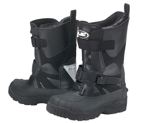 HJC Standard Snow Boots Black 8 USA